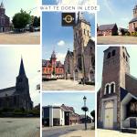 Wat te doen in Lede de 6 kerken van Groot-Lede