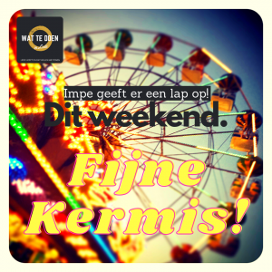 wat te doen weekend kermis Lede vrijdag zaterdag zondag