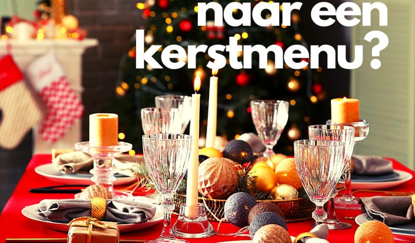 Kerstmenu eindejaarsfeesten Lede wat te doen