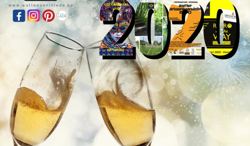 jaaroverzicht 2020 wat te doen in Lede