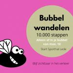bubbelwandelen 10000 stappen Lede
