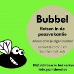 bubbelfietsen paasvakantie lede