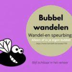 bubbelwandelen bingo paasvakantie