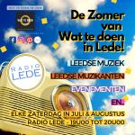 De zomer van wat te doen in Lede Radio Lede
