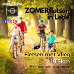 zomers fietsen in Lede Fietsen met Vlieg
